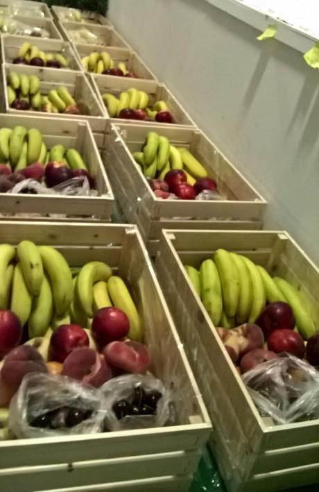 cabazes de fruta para empresas